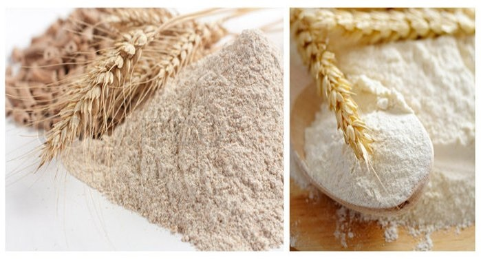 Healthy facts about Whole Wheat Flour and Refined Flour