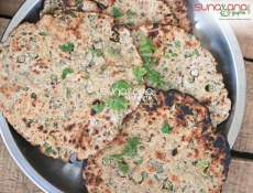 Methi Oatmeal Bhakri Recipe