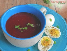 Beetroot Tomato Soup Recipe