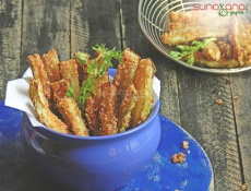 Bottle Gourd Fries Recipe