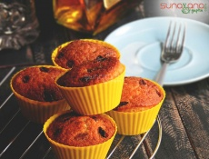 Brandied Raisin And Walnut Muffin Recipe