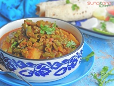 French Beans And Potato Curry Recipe