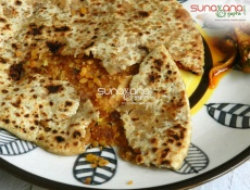 Moong Dal Paratha Recipe