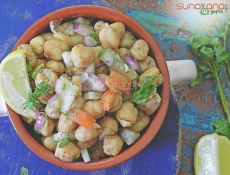 Summer Chickpea Salad With Garlic And Lime Dressing Recipe