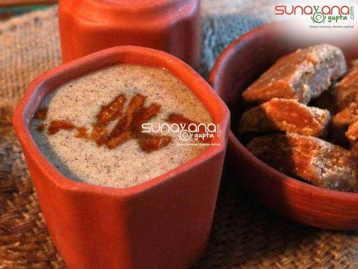 Sweet Ragi Malt | Ragi Kanji | Ragi Porridge Recipe