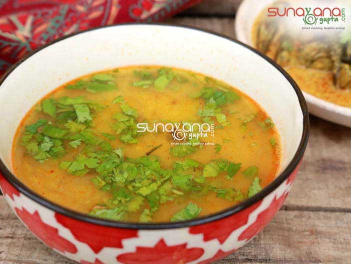 Khatti Meethi Rajasthani Dal Recipe