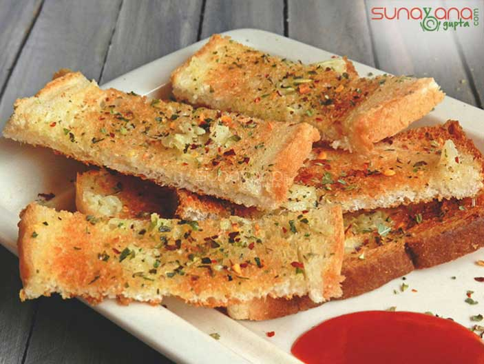 homemade-garlic-bread-recipe-435