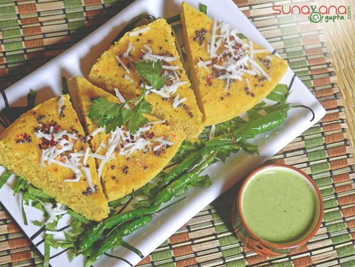 Khaman dhokla recipe how to make khaman dhokla recipe khaman dhokla recipe 444 forumfinder Image collections