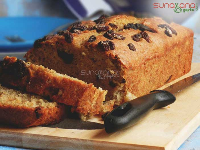 Whole wheat banana bread with raisins recipe how to make whole whole wheat banana bread with raisins recipe 616 forumfinder Gallery